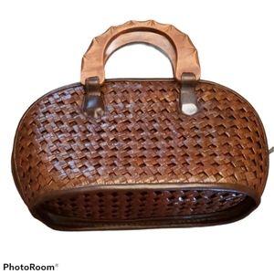 Wicker Cottagecore Handbag